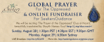 Global Prayer for the Oppressed & Ramadan Fundraiser
