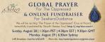 Global Prayer for the Oppressed & Ramadan Fundraiser